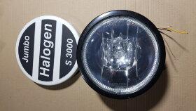 Фара противотуманная с LED подсветкой и крышкой