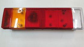 Фонарь задний 7-секционный DAF левый