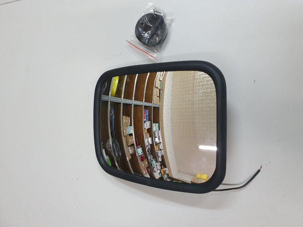 Зеркало с подогревом  бордюрное 220*170