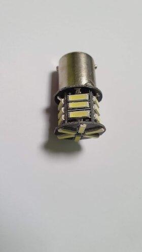 Лампа 24V R5W BA15s 21LED кукуруза
