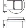 Лампа 12V H11 55W PGJ19-2