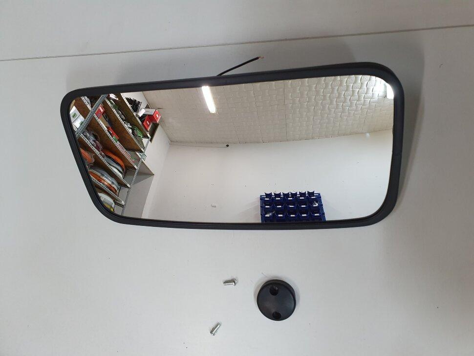 Зеркало с подогревом MAN 380*191