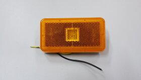 Фонарь габаритный жёлтый 4LED VOLVO FH/FM после 2008 с кабелем