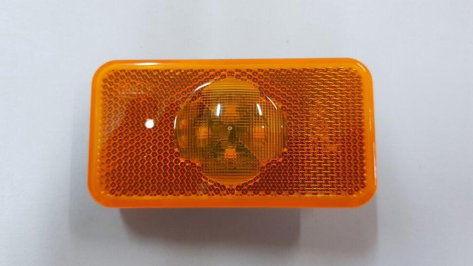 Фонарь габаритный жёлтый 4LED VOLVO FH/FM после 2008 разъём