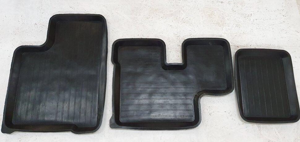 Коврик резиновый KAMAZ комплект 3шт
