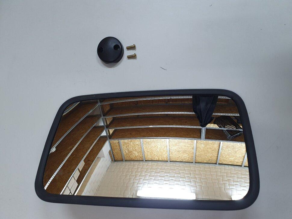 Зеркало бордюрное с подогревом 327*193 MAN, MB