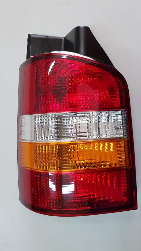 Фонарь задний VW Transporter T5(2003-2009) левый желтый