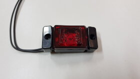 Фонарь габаритный красный LED