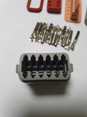 Разъем электрический 12-pin Volvo/Scania (к 7804121)