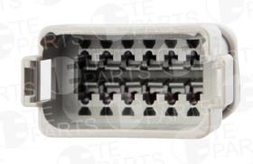 Разъем электрический 12-pin Volvo/Scania (к 7802128)