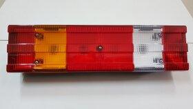 Фонарь задний 6-секционный рифленый MB левый Trucklight