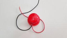 Светодиодный элемент красный в рога E103