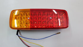 Фонарь задний 3-секционный LED левый