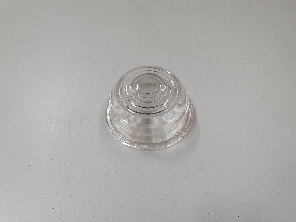Стекло бокового габарита прицепа белое E102