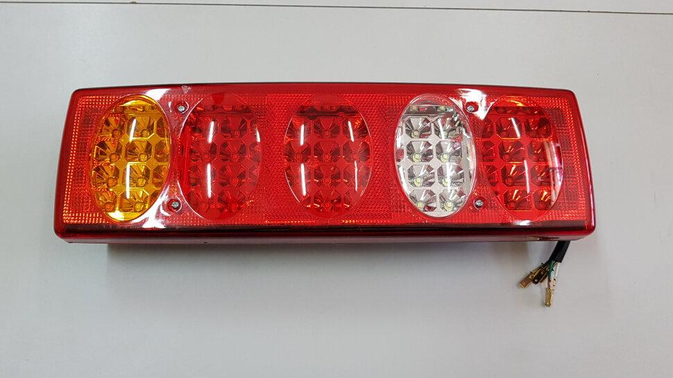 Фонарь задний 5-овальный LED левый