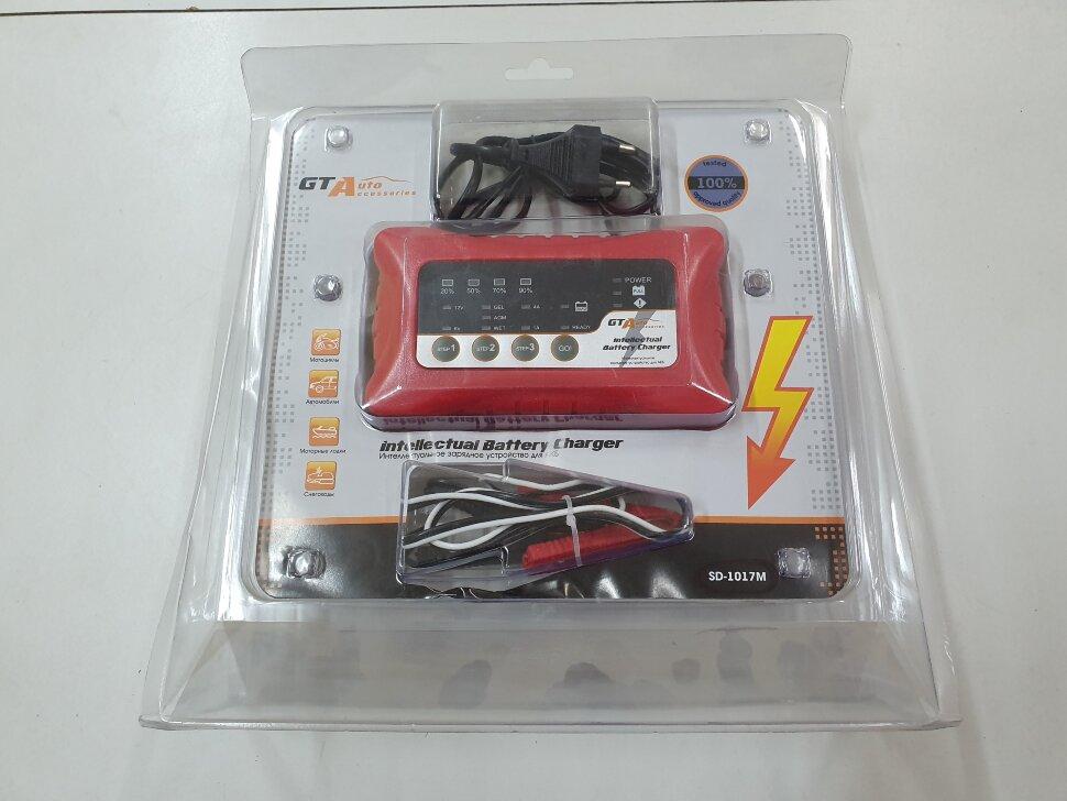Зарядное устройство импульсное для АКБ панелью индикаторов