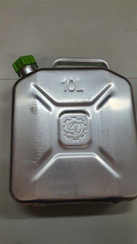 Канистра алюминиевая 10л