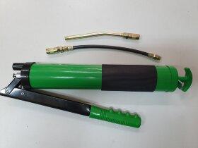 Шприц для смазки ручной 500мл зеленый обрезиненный