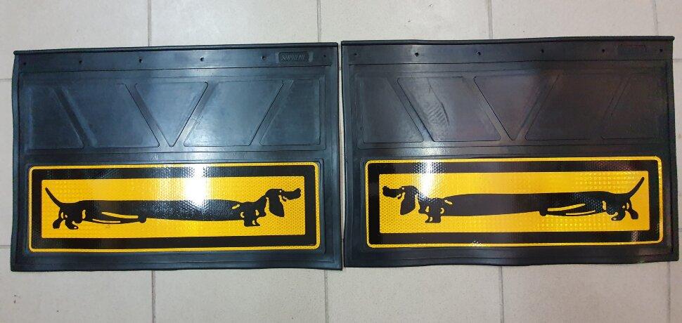 Брызговики 400x600 светоотражающие с таксой