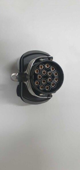Электрическая розетка прицепа переходник ABS 15 -> 7N+7S