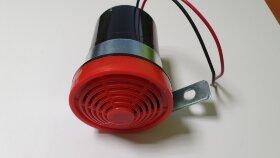 Сигнал электрический заднего хода круглый 12V