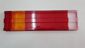 Стекло заднего фонаря MB 6-секционное белый скраю