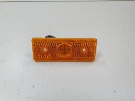 Фонарь габаритный желтый 4LED 120*45мм