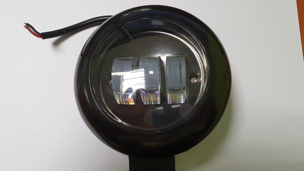 Фара противотуманная круглая дальний свет 3LED