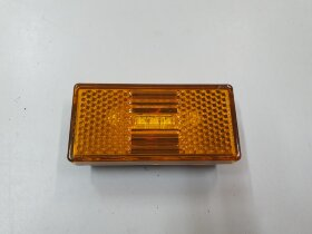 Фонарь габаритный желтый 3LED КАМАЗ с разъемом