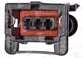 Разъем электрический 3 контакта DAF, Iveco