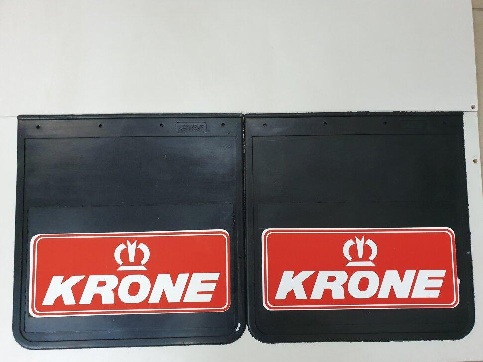 Брызговики 400x410 KRONE красный
