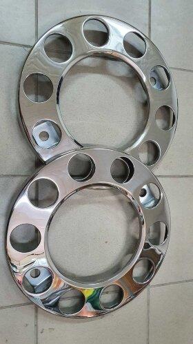 Металлический колпак колеса 22,5 на евродиск передний ободок компл. 2шт