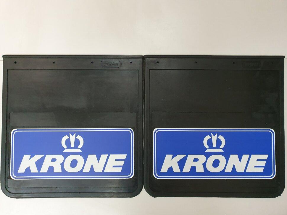 Брызговики 400x410 KRONE синий