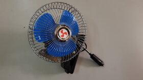 Вентилятор в кабину на прищепке металл d=150